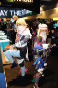 Sheik and Sheik. I'm guessing they were having a 2 for 1 sale at the LOZ Costume shop.