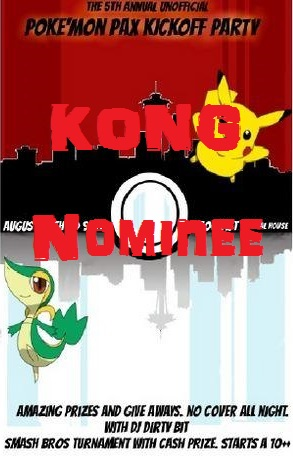 Pokemon Party - King and Kong Nominee