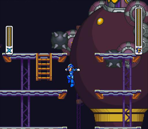 Mega Man X2   Boss