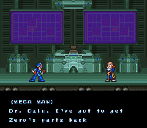 Mega Man X2 | Dr. Cain
