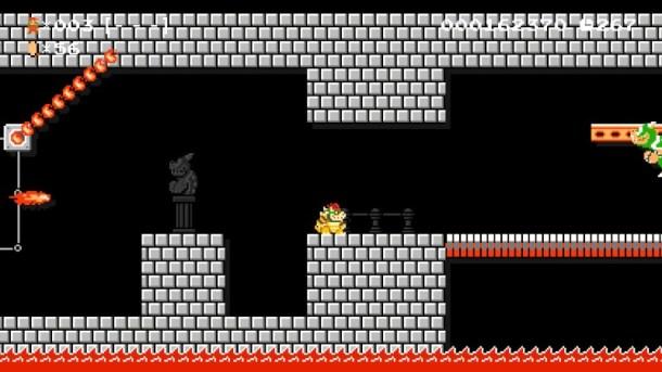 Super Mario Maker   Bowser Fights Bowser
