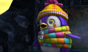 Chibi-Robo Zip Lash | Peggy the Penguin