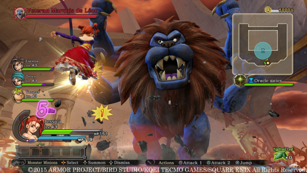 Dragon Quest Heroes | Boss
