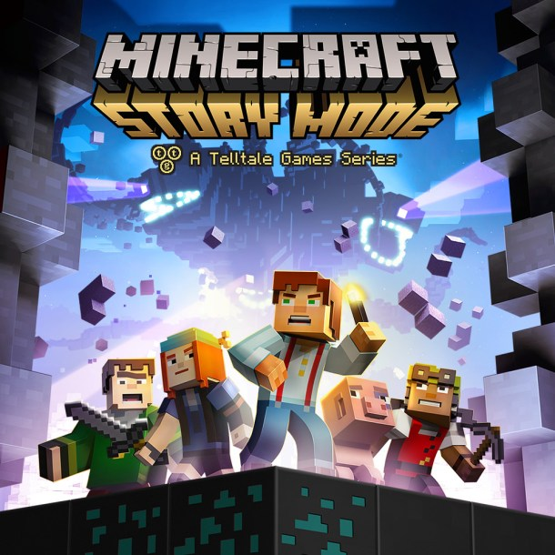 Minecraft: Story Mode | Cover art