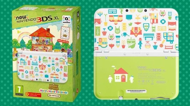 Nintendo Animal Crossing 3DS bundle