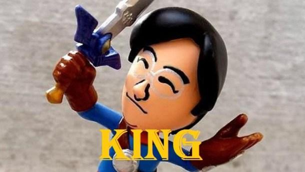 Satoru Iwata amiibo - King and Kong
