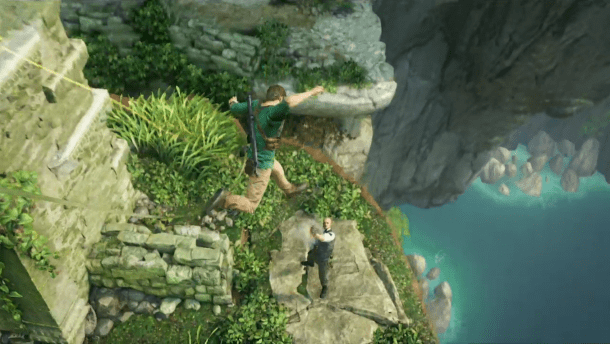 Uncharted 4 gameplay