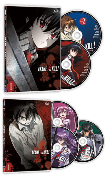 Akame ga Kill! - DVD and Blu-ray
