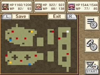 Chronus Arc | Basic Dungeon Map
