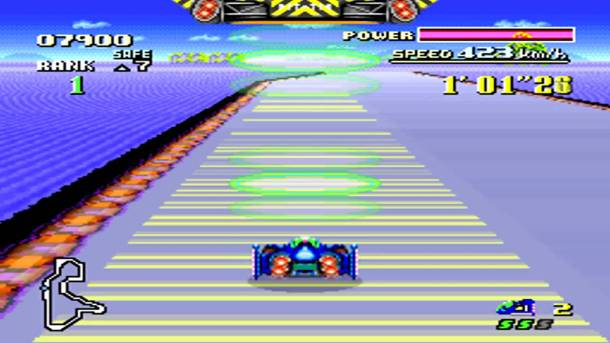 F-Zero Big Blue SNES