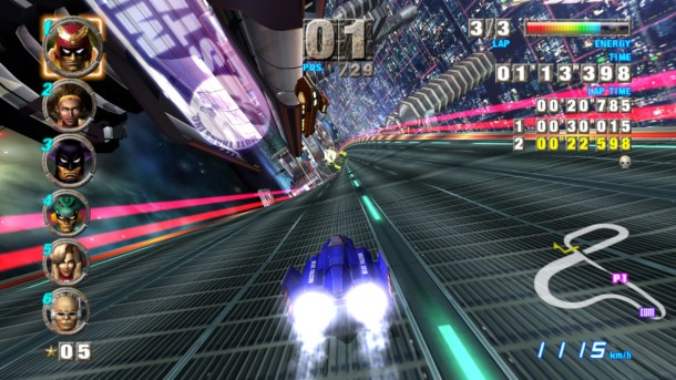 F-Zero GX - Mute City