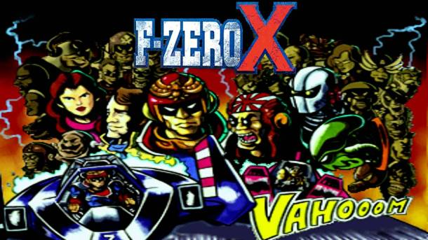 F-Zero X title Screen