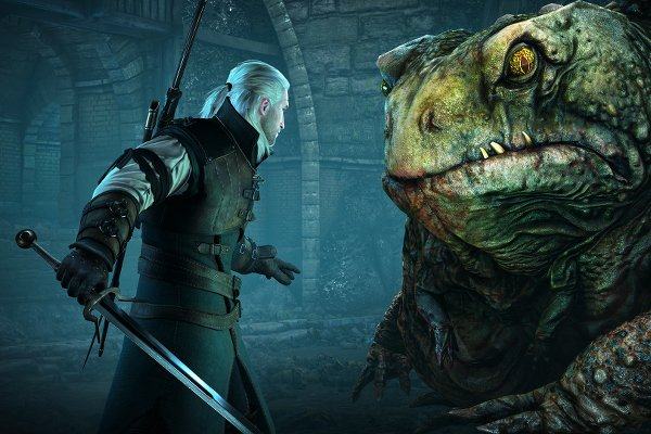 The Witcher 3 Hearts of Stone | Geralt and the Frog Boss
