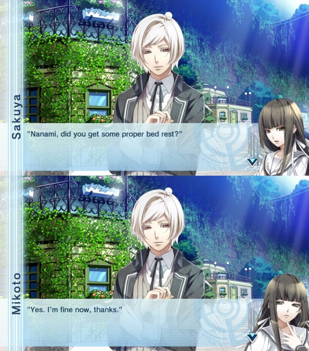 Norn9 | Confused Sakuya and Mikoto