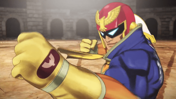 Smash Bros. Wii U Captain Falcon