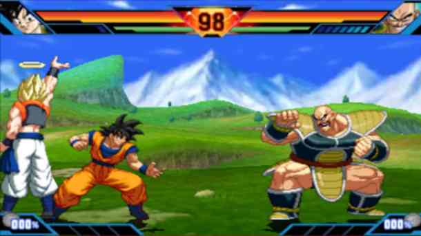 Dragon Ball Z: Extreme Butoden | Goku vs. Nappa