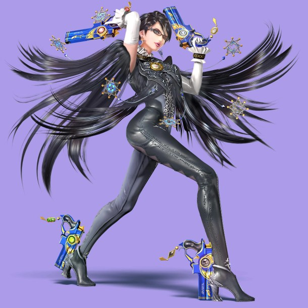Bayonetta - Super Smash Bros. for Wii U and 3DS