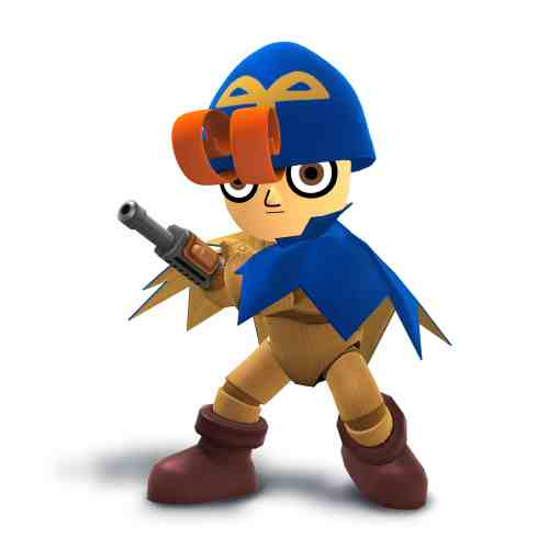 Geno Mii Fighter Costume - Super Smash Bros. for Wii U and 3DS