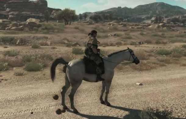 Metal Gear Solid V | Horse Dumping