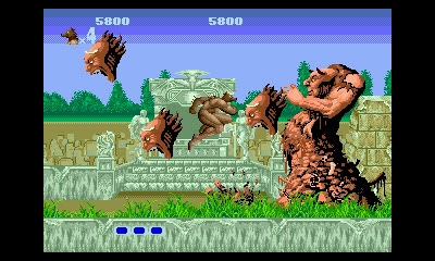Unleash your beast mode in Altered Beast.