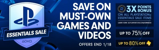 PSN essentials sale