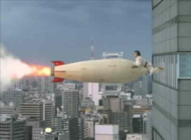 Segata Sanshiro| Segata vs the Missile
