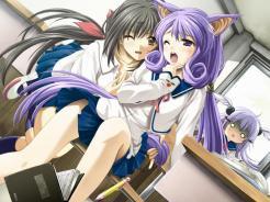 Visual Novel Scene