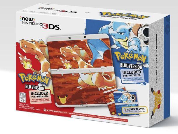 Pokémon New Nintendo 3DS bundle