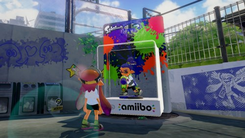Or, the only game where you can talk to an amiibo in person.