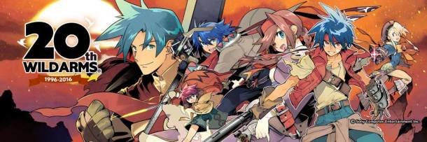 Anniversary Illustrations Wild Arms