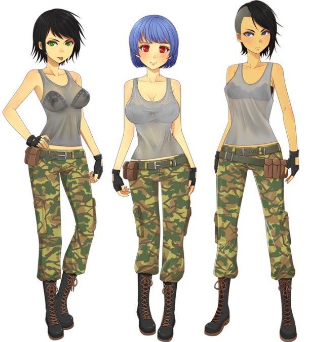 Army Gals