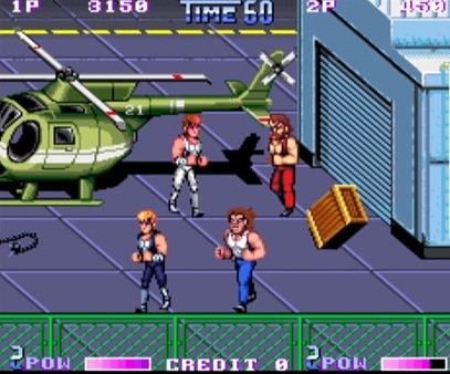 Double Dragon II Arcade