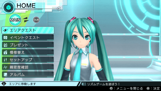 Project DIVA X Communication 1