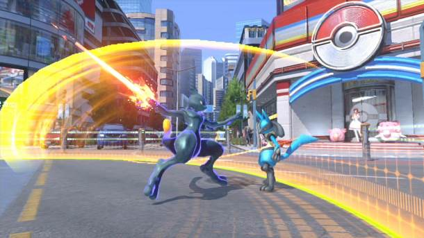 Pokken Shadow Mewtwo