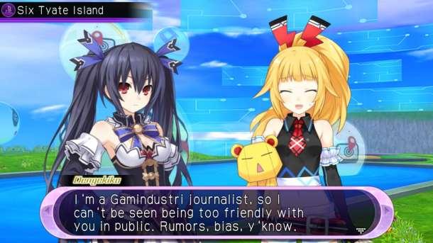 Hyperdimension Neptunia U   Game Journalism
