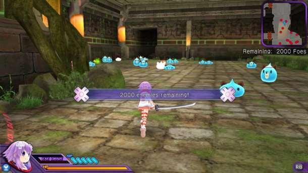 Hyperdimension Neptunia U   Hard work