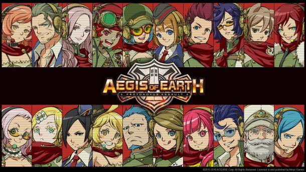 Aegis of Earth | Title Image