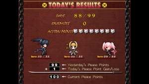 Beat Blades Haruka Daily Tally