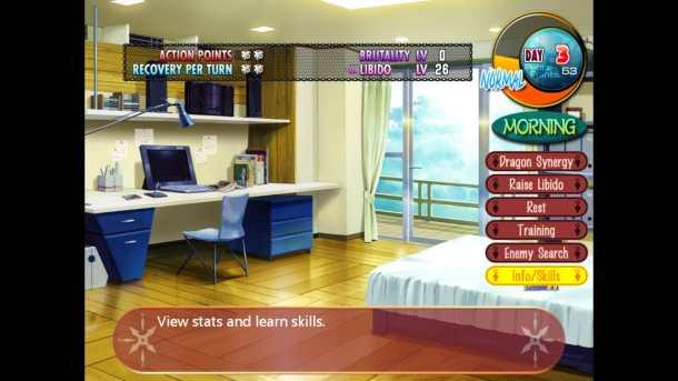 Beat Blades Haruka | Main Screen