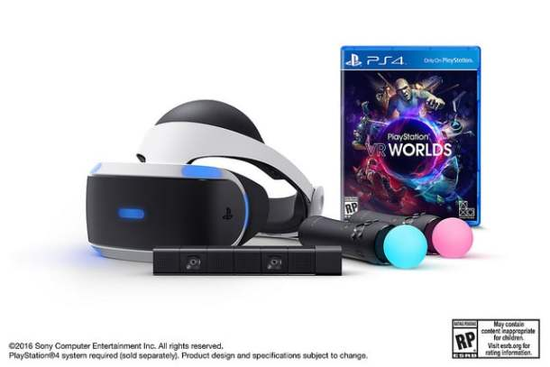 Playstation VR Preorder Bundle