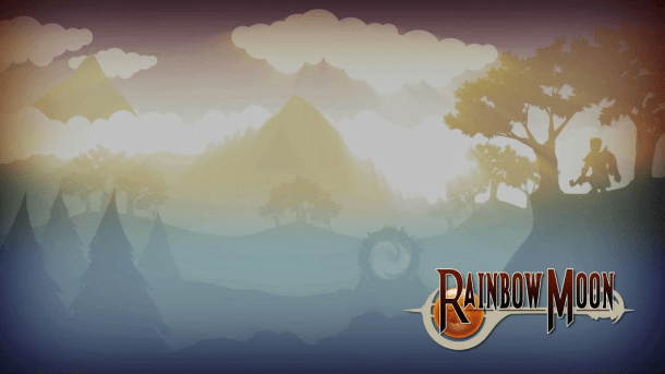 Rainbow Moon | Title Screen