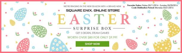 Square Enix | Easter Sale Banner