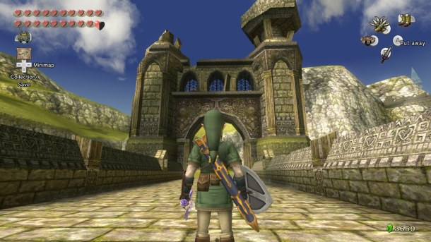 The Legend of Zelda: Twilight Princess HD | Lake Hylia Bridge
