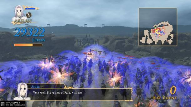 Arslan: Warriors of Legend | Big Combo