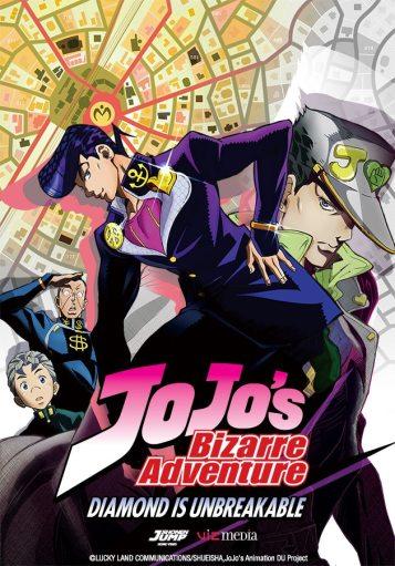 JoJo's Bizarre Adventure   Season 3 Key Art