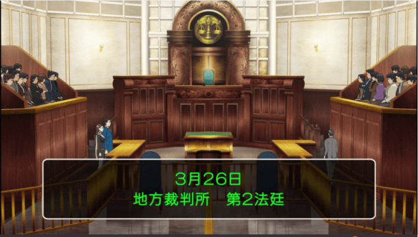 ace attorney | court