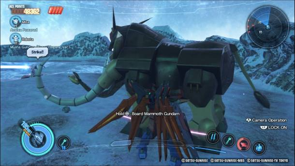 Gundam Breaker 3 | Mammoth
