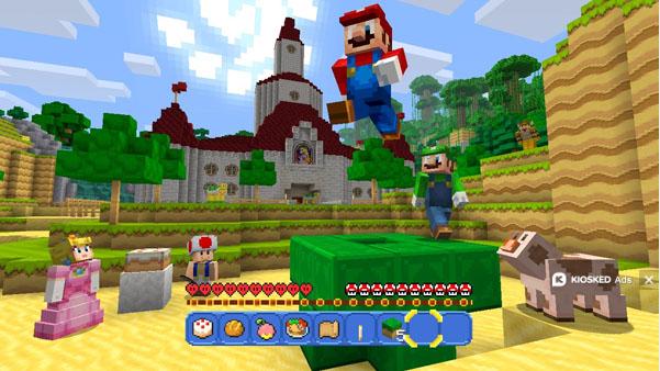 Minecraft Wii U Mario Mashup Free DLC