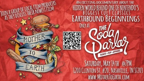 Mother to Earth Soda invite