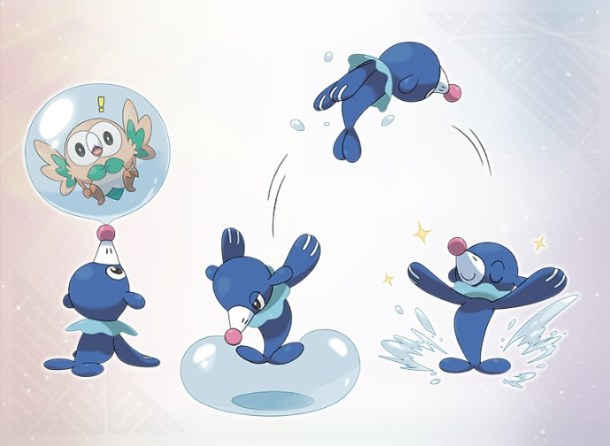 Pokémon Sun and Moon Popplio